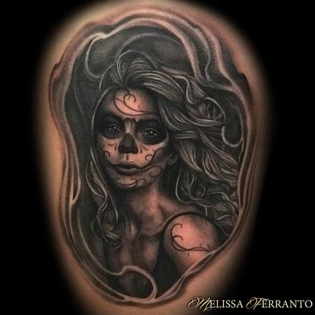 tattoos/ - Day of the Dead Portrait  - 132928