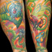 Tattoo-Books - Psychedelic Garden - 8004