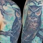 Tattoo-Books - Cemetery At Dusk - 122723