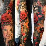 tattoos/ - Alex De Pase full sleeve with Katrina - 115733