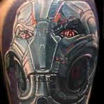 Ultron Marvel comic tattoo Tattoo Design Thumbnail
