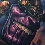 Thanos tattoo Tattoo Design Thumbnail