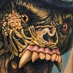 warmonger from American Werewolf in London movie tattoo Tattoo Design Thumbnail