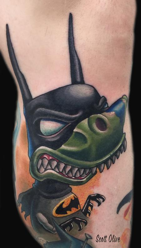 tattoos/ - Tree batman - 127970