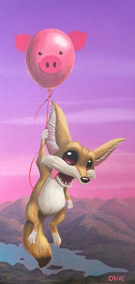 Art Galleries - Fennec Floater  - 127972
