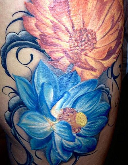 tattoos/ - Flower - 103967