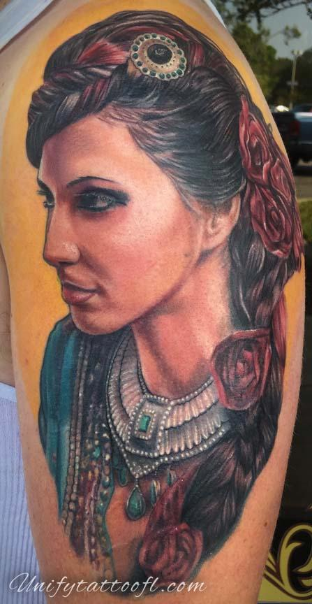 tattoos/ - Gypsy Lady - 129400