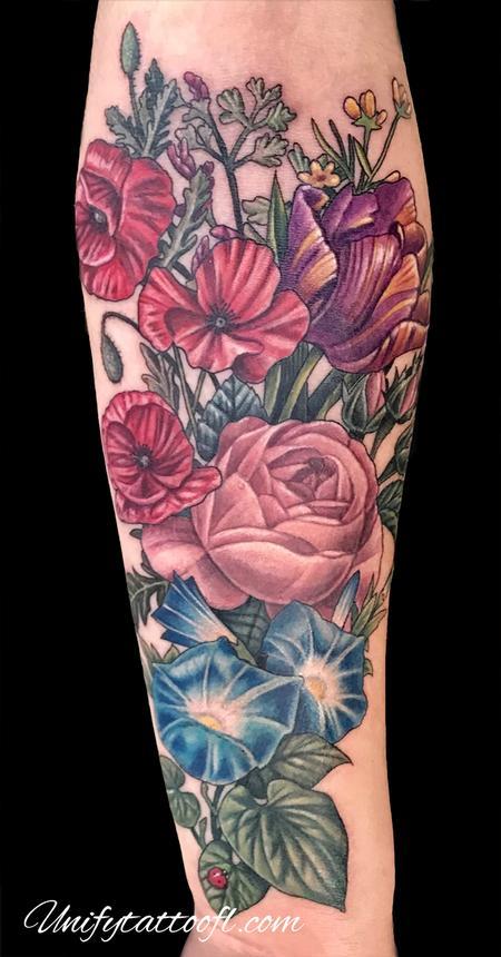 tattoos/ - Vintage Floral - 134811