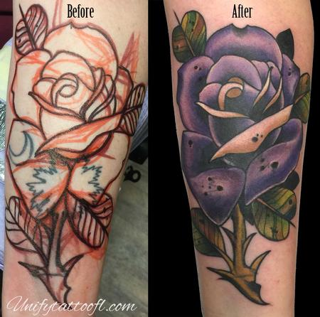 Lettering - Cover up
