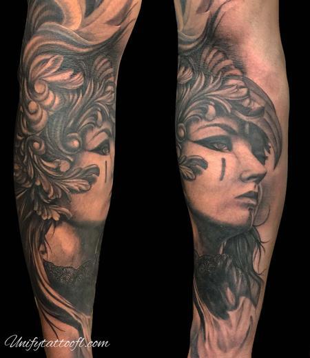 Fantasy Warrior - Valkyrie woman