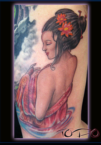 Keyword Galleries: Color Tattoos, Traditional Asian Tattoos, Pin Up Tattoos