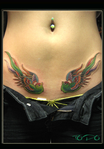 swallow bird tattoos. Nature Animal Bird Tattoos