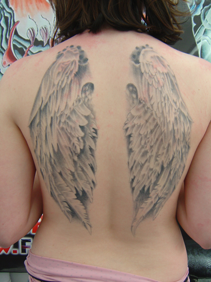 Religious Angel tattoos