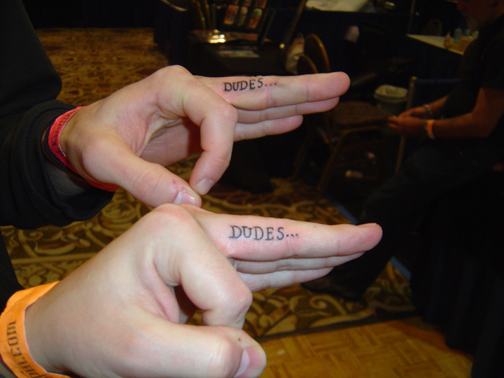 Tattoo On Fingers. Posted by admin on October 10th, 2010