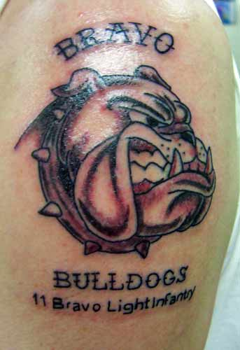 Blood Tattoo Dog. Also on Zimbio: