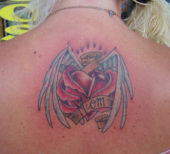 tattoos of angel wings. angel wings tattoo for girl