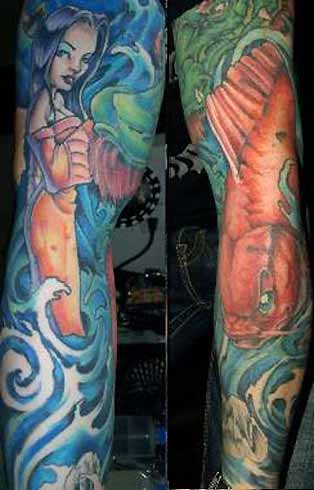 2012 Japanese Tattoo Sleeve