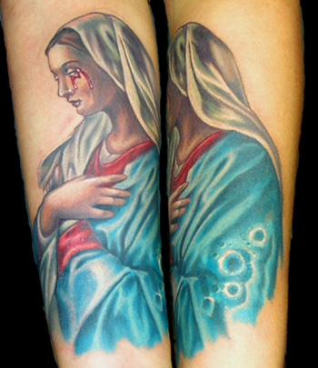 Mama+mary+tattoo