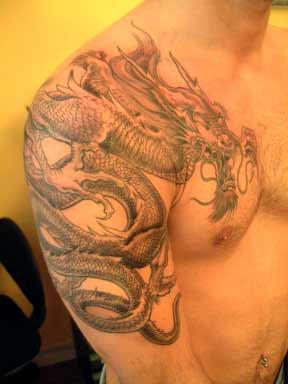 Dragon Tattoo on Dragon Tattoo M Jpg
