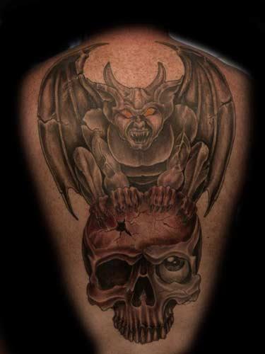 tattoos Tattoos gargoyle .