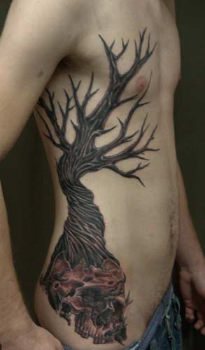 Tattoos dead tree