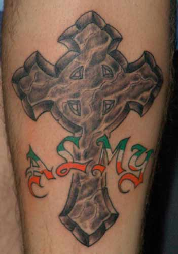 Tattoo Galleries: irish pride Tattoo Design