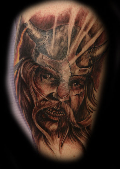 tribal celtic full color, Viking Tattoo Designs and art picture, tribal,