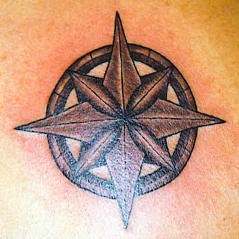 Nautical Star With Wings Meaning. Nautical Star Tattoos Nice and