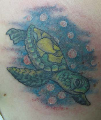 Size:260x347 - 15k: Sea Turtle Tattoo