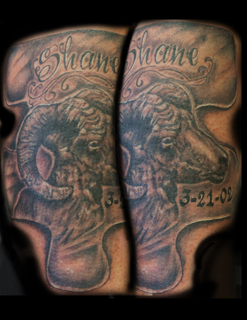 Pictures Animal on Looking For Unique Angel Caban Tattoos  Ram