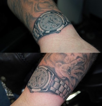 Get a watch tattoo.