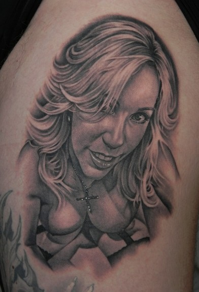 Looking for unique Portrait tattoos Tattoos? Porn star Wifey