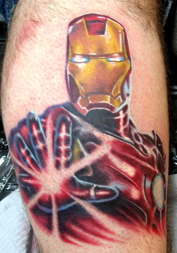 Comments: It's Iron Man, you know from that movie with the person in it.
