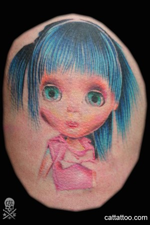 Looking for unique Color tattoos Tattoos? Doll Click to view large image
