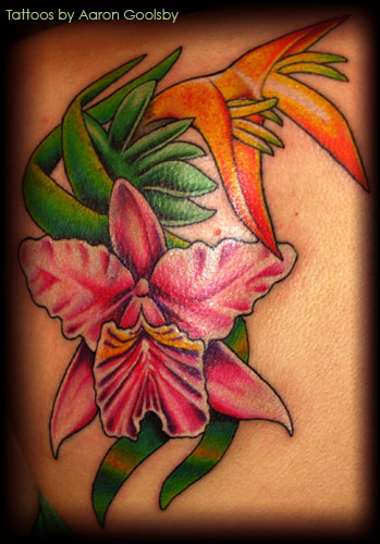 Looking for unique Flower tattoos Tattoos? Tropical Flowers