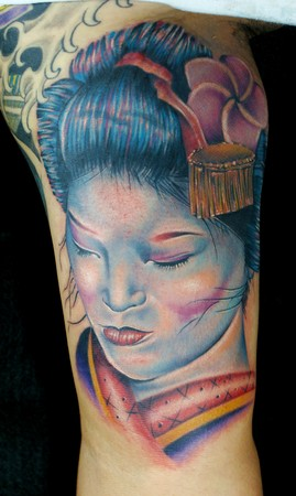 Tattoos Designs Images With Woman Tattoos Typically Japanese Geisha Tattoos Art Galleries