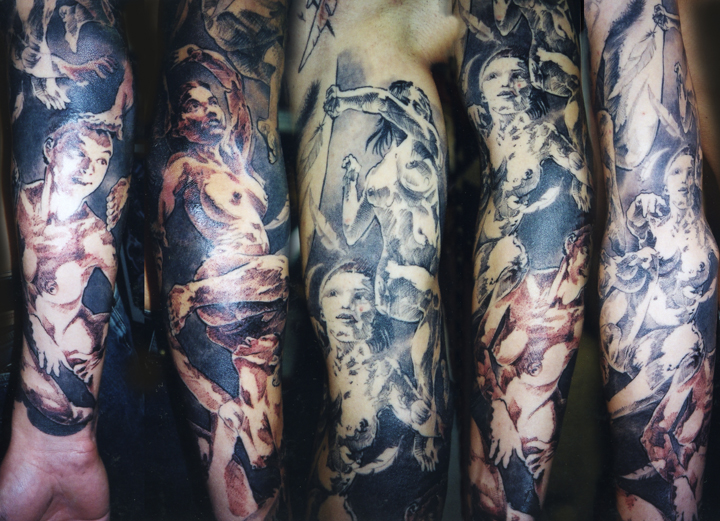 More On Japanese Arm and Sleeve Tattoo Designs Koi Fish Sleeve Tattoos