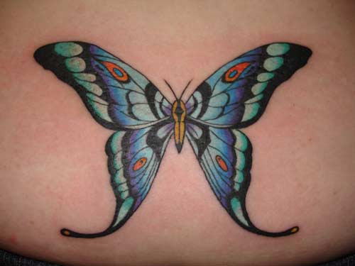 butterfly wings tattoo. Butterfly Tattoos, Wings