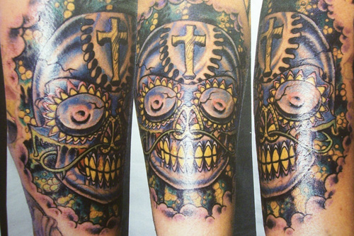 day of the dead tattoos pictures. Day Of The Dead Tattoos