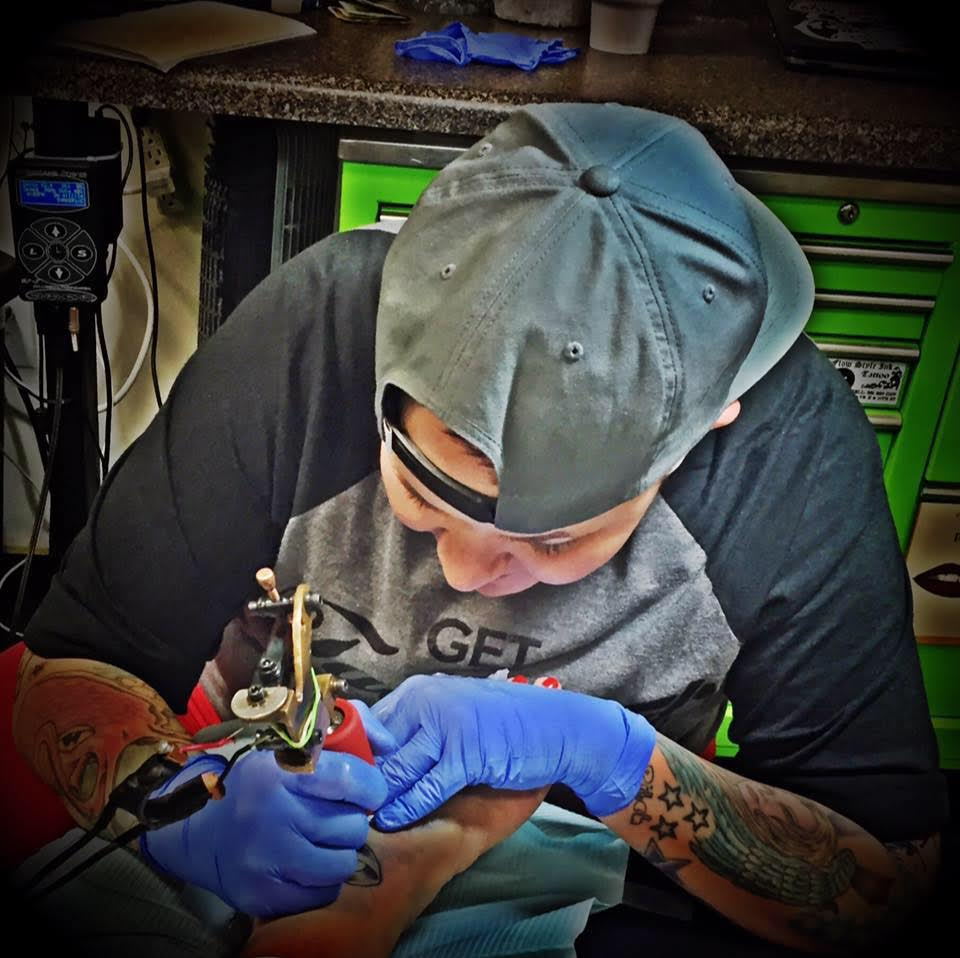 Ashley bubbles mcbride tattoonow for Best tattoo artist in fort worth