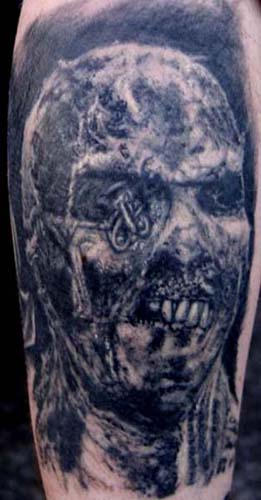 favorite tattoos, and probably one of my favorite zombies.