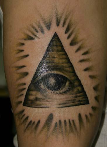 Freemason eye by dan henk tattoonow for Tattoo shops in wichita falls tx