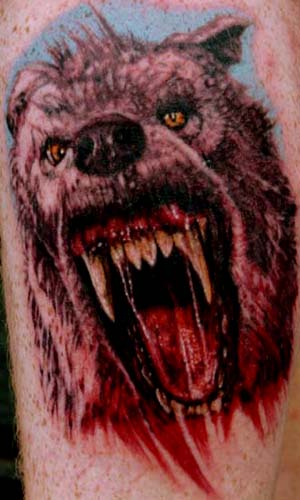 The Werewolf Café / werewolf tattoo help. Werewolf tattoos
