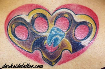 tattoo galleries brass knuckles tattoo design. Black Bedroom Furniture Sets. Home Design Ideas
