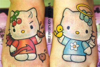 Hello Kitty tattoo 15
