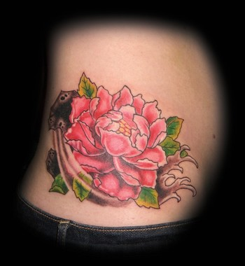 Tattoos. Tattoos Traditional Asian. Peony Flower