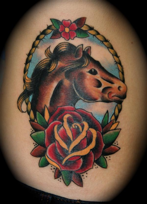 Animal Horse tattoos,