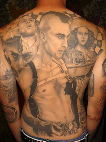 Big Gus - Taxi Driver Large Image. Keyword Galleries: Black and Gray Tattoos