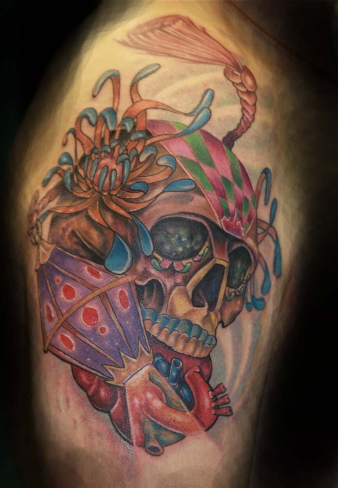 sugar skulls day of dead tattoos. Sugar skull/ Day of the Dead