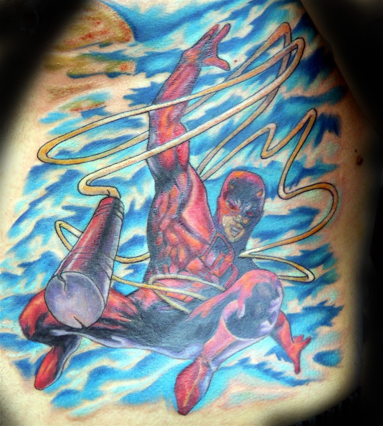Comic Book Tattoos. daredevil
